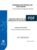 Ingenieria Planta de Produccion de Urea