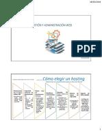 Gestion y Adminsitración Web s002