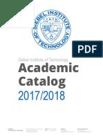 Siebel Institute Academic Catalog 2017 2018