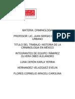 Criminología en México