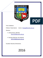 Informe 2 Soldaduras Elementos