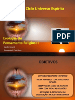 Evolucao Do Pensamento Religioso Aula 1-CleaA