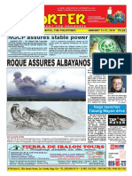 Bikol Reporter January 21 - 27, 2018 Issue