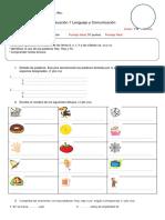 Evaluación 1 Lenguaje y Comunicación