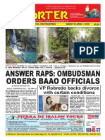 Bikol Reporter March 25 - April 1, 2018 Issue