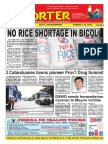 Bikol Reporter March 4 - 10, 2018 Issue
