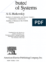 Distributed Control Systems - A. G. Butkovskiy