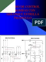 Tablero de Control de Bombas Con Arranque Estrella Triangulo