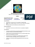 UT Dallas Syllabus for rhet1101.037.10f taught by Thomas Chesney (tdc081000)