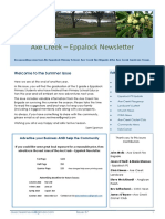 Axe Creek Eppalock News Issue 57