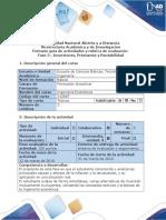 Guía de Actividades y Rubrica de Evaluación - Fase 3 - Inversiones, Préstamos y Rentabilidad