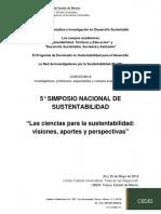 Convocatoria 5° Simposio Nacional de Sustentabilidad (2)
