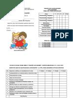 Tarjeta de Calificaciones 2017