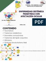 Enfermedad Sistémica Pediátrica Con Afectación Ocular