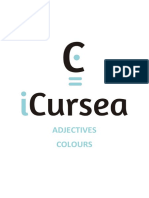 Icursea and Adjectives Colours