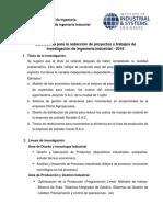 Guia Metodologica Para Proyectos y Trabajos de Investigacion en Ingenieria Industrial