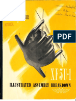 Vought XF5U Flying Flapjack Illustrated Assembly Breakdown Manual(1)