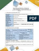 Guía de Actividades y Rúbrica de Evaluación - Paso 3 - Analizar El Caso Violencia Escolar (1)