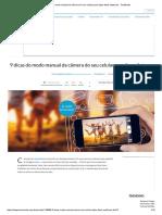 Dicas modo manual da câmera do celular para fotos melhores - TecMundo.pdf