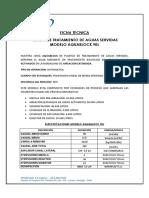 Ficha Tecnica Aqb 90l Estandar
