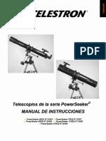 Manual Celestron Powerseeker