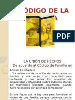 Diapositivas Para Exposicion Codigo de La Familia