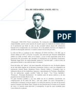 Biografia de Medardo Angel Silva