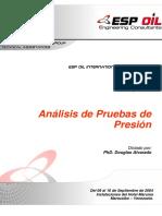 Manual Análisis de Pruebas de Presión