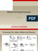 ME 480-Metal Working Processes