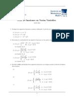 Guia de Funciones en Varias Variables