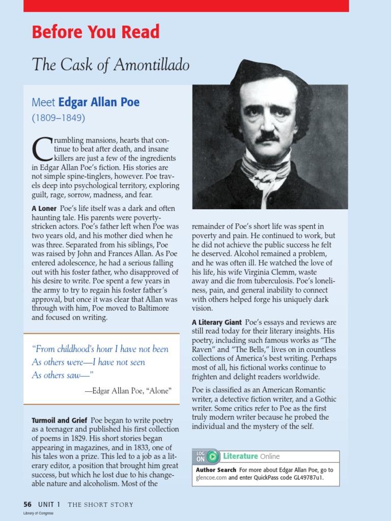 Edgar Allan Poe Stories Pdf