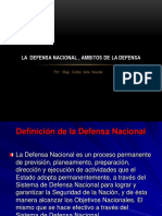 Ambitos de La Defensa Nacional