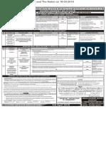 PPSC  Advt 07-2018- 14-03-2018