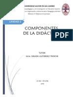 Componentes de La Didáctica WT
