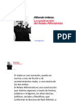 Relato Alfonsinista [Autoguardado]