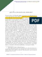 1.1. John Finnis - Que Es Filosofía Del Derecho (UNAM)