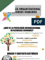 Psicología Organiazcional en RRHH