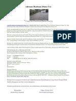 Contoh Proposal CSR