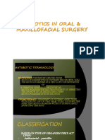 Antibiotics in OMFS