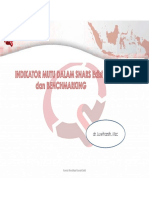 Indikator Mutu Dalam SNARS Edisi 1 & Benchmarking Data