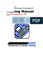 Ecdl v4 Mod1 Pc-Version Manual