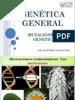 15 Semana - Genética General - Mutaciones y Genetica