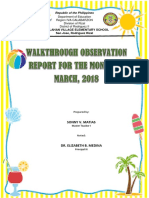 Supervisory Report March 2018