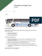 Biaya Operasional Kendaraan bus