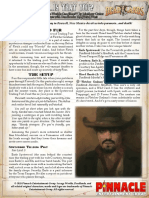 Deadlands Reloaded - One Sheet - Is That You