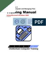 Ecdl v4 Mod2 Windows-2000 Manual