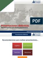presentaciones didacticas