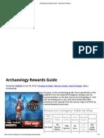 Archaeology Rewards Guide - DolyGames Wartune