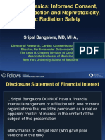 1Cath Lab Basics- Informed Consent, Contrast Reactions and Nephrotoxicity, And Basic Radiation Safety