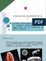 Unidad 1 Embriologia